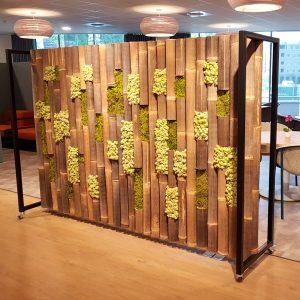 roomdivider bamboe