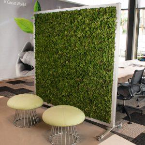 Roomdivider moss green