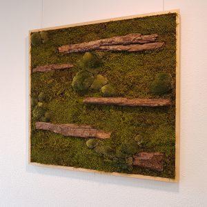 Mosschilderij forest