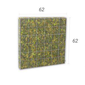 Moskorf 62×62 cm (bxh)