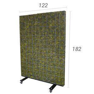Mobiele moskorf 122×182 cm (bxh)