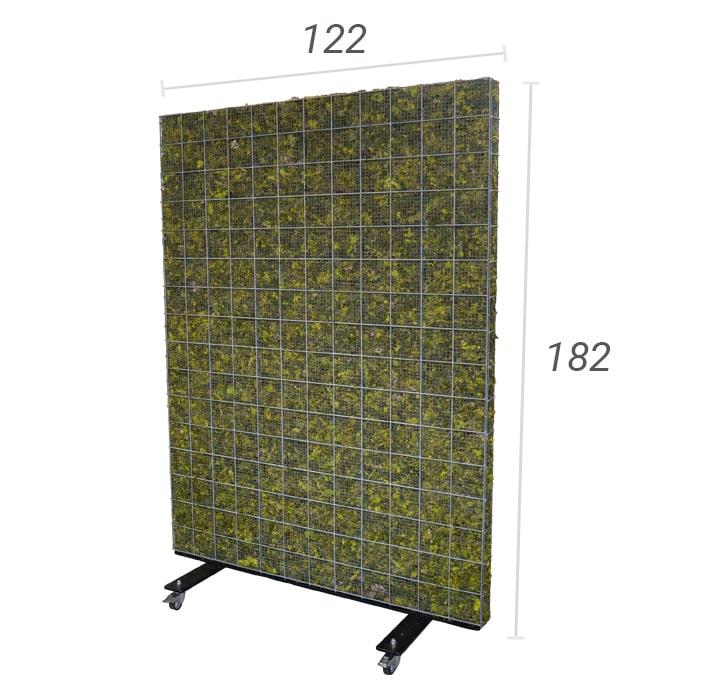 mobiele moskorf 122 x 182 cm