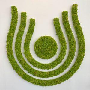 Beeldmerk rendiermos spring green